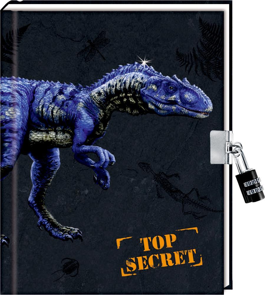 Tagebuch - T-REX World - Top Secret als Buch (gebunden)