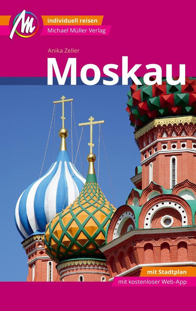 Moskau MM-City Reiseführer Michael Müller Verlag als Buch (kartoniert)