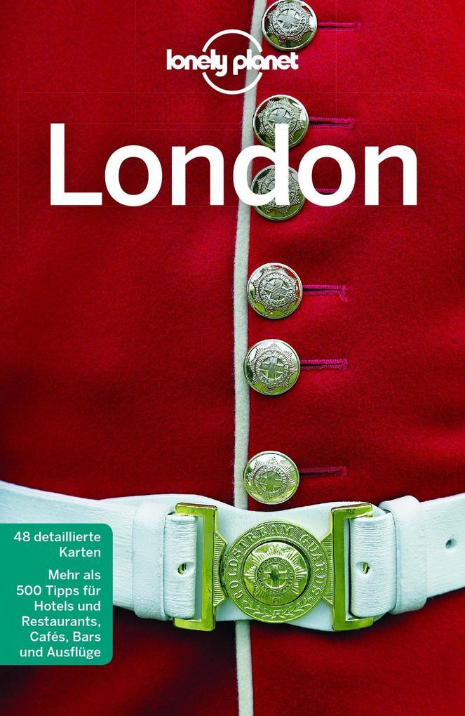 Lonely Planet Reiseführer London als Buch (kartoniert)