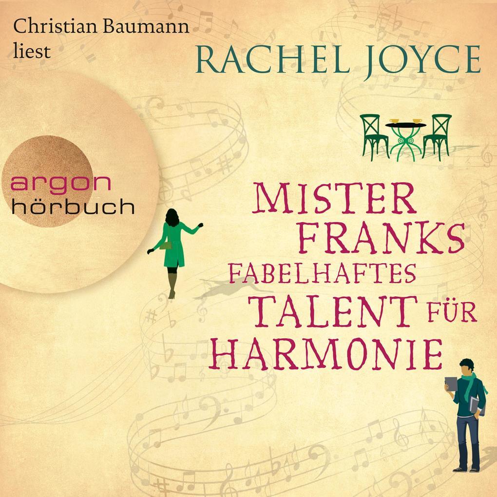 Mister Franks fabelhaftes Talent für Harmonie (Gekürzte Lesung) als Hörbuch Download