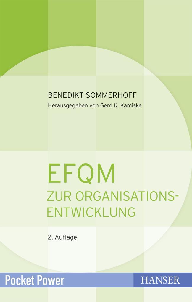 EFQM zur Organisationsentwicklung als Buch (kartoniert)