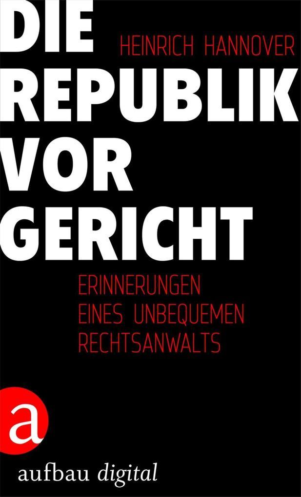 Die Republik vor Gericht 1954-1995 als eBook epub