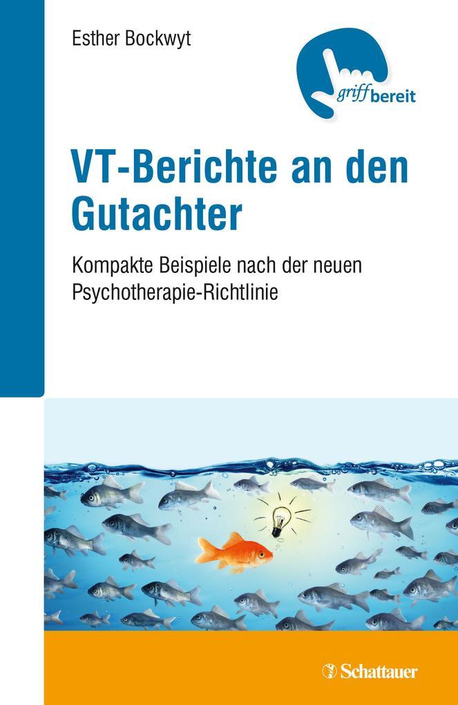 VT-Berichte an den Gutachter als Buch (kartoniert)