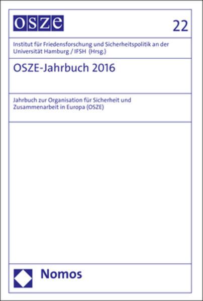 OSZE-Jahrbuch 2016 als Buch (gebunden)