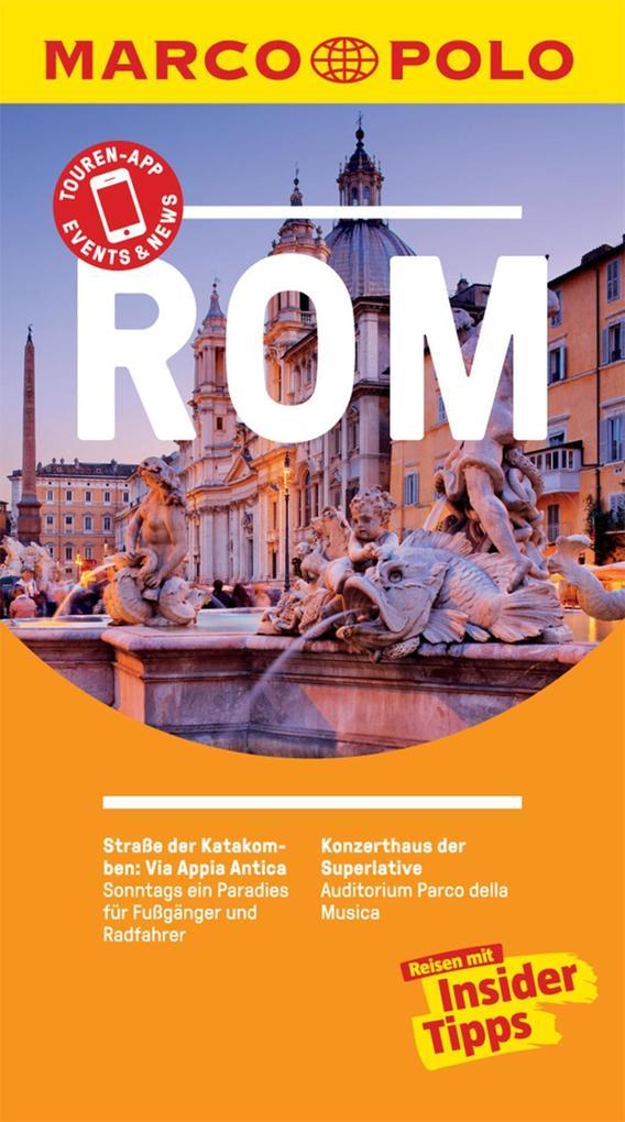 MARCO POLO Reiseführer Rom als eBook epub