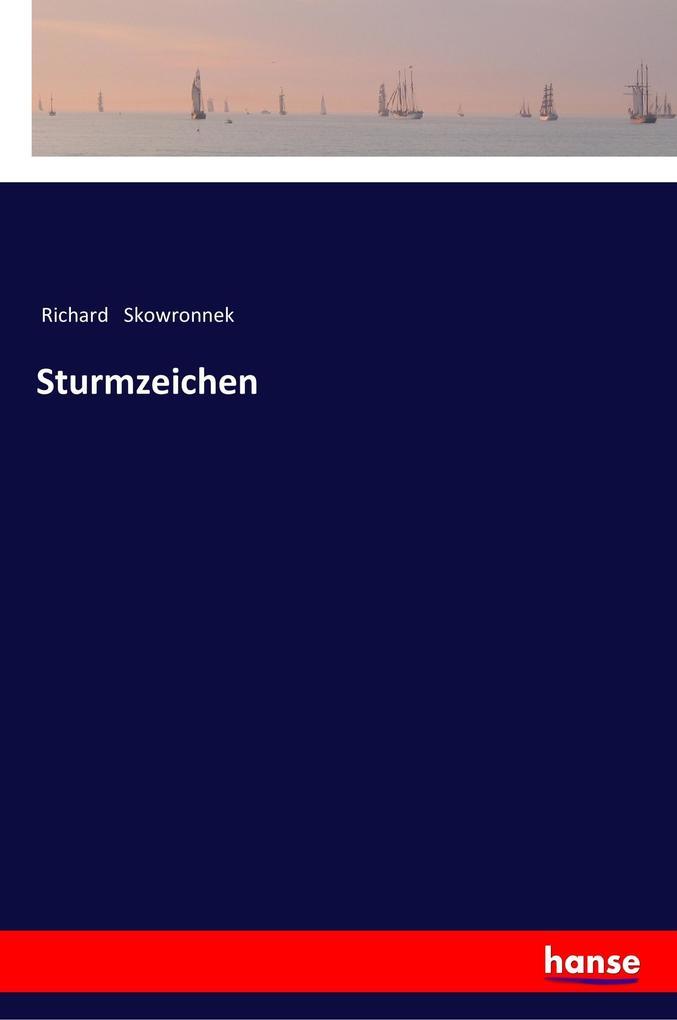 Sturmzeichen als Buch (kartoniert)