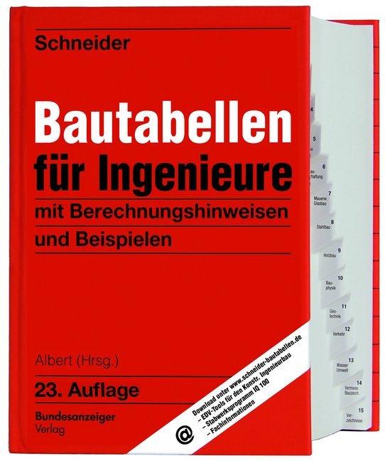 Schneider - Bautabellen für Ingenieure als Buch