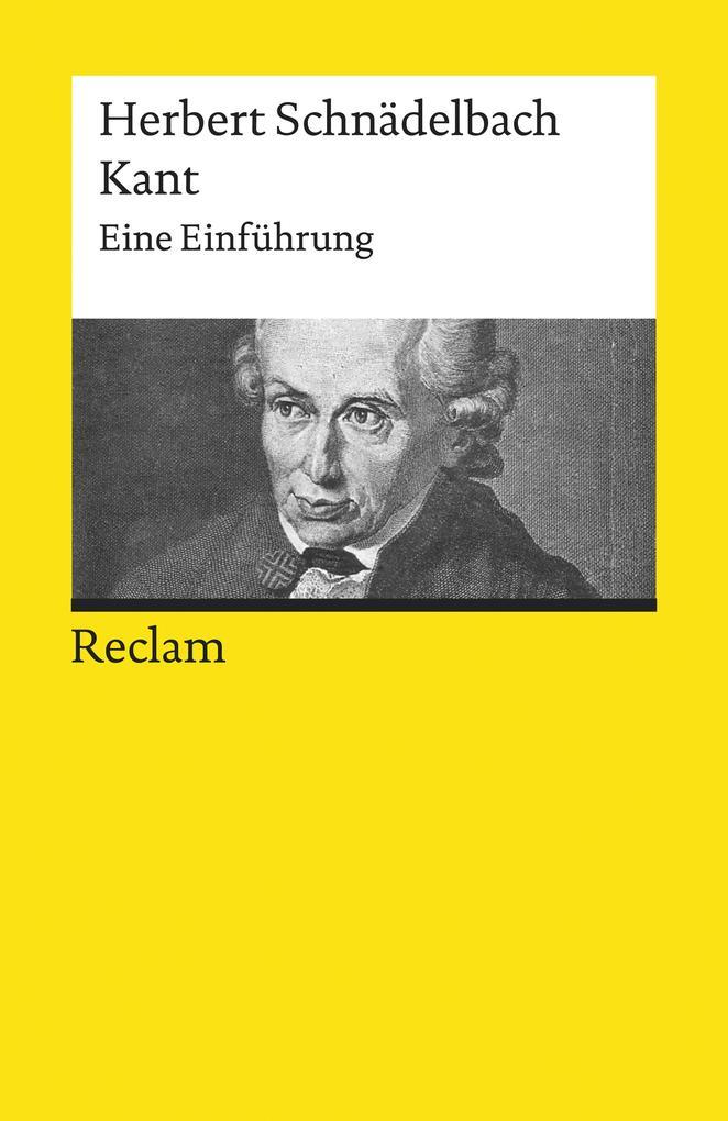 Kant. Eine Einführung als eBook epub