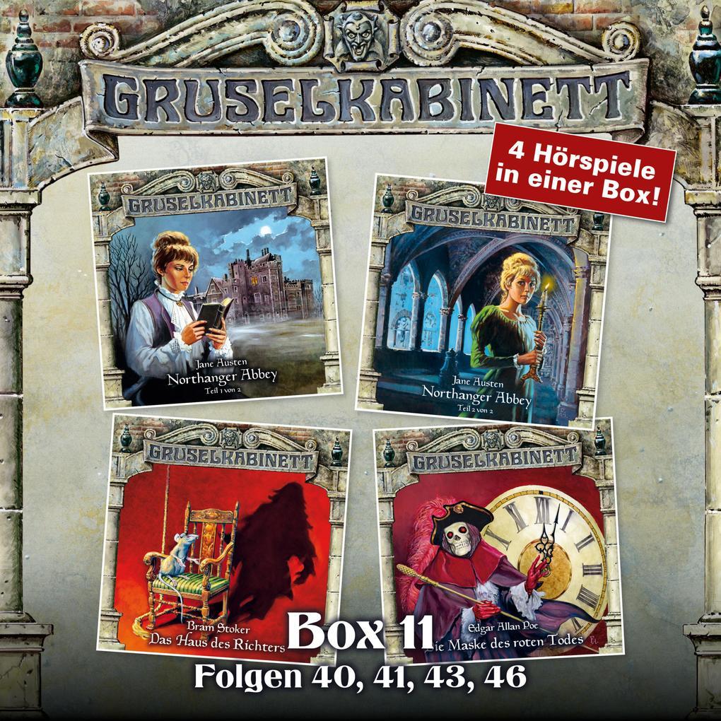 Gruselkabinett, Box 11: Folgen 40, 41, 43, 46 als Hörbuch Download