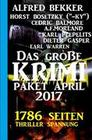 1786 Seiten Thriller Spannung: Das große Krimi Paket April 2017