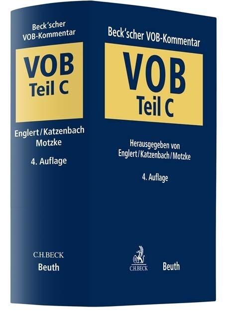 Beck'scher VOB-Kommentar Teil C als Buch (gebunden)