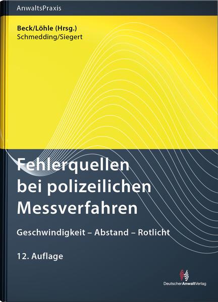 Fehlerquellen bei polizeilichen Messverfahren als Buch (kartoniert)