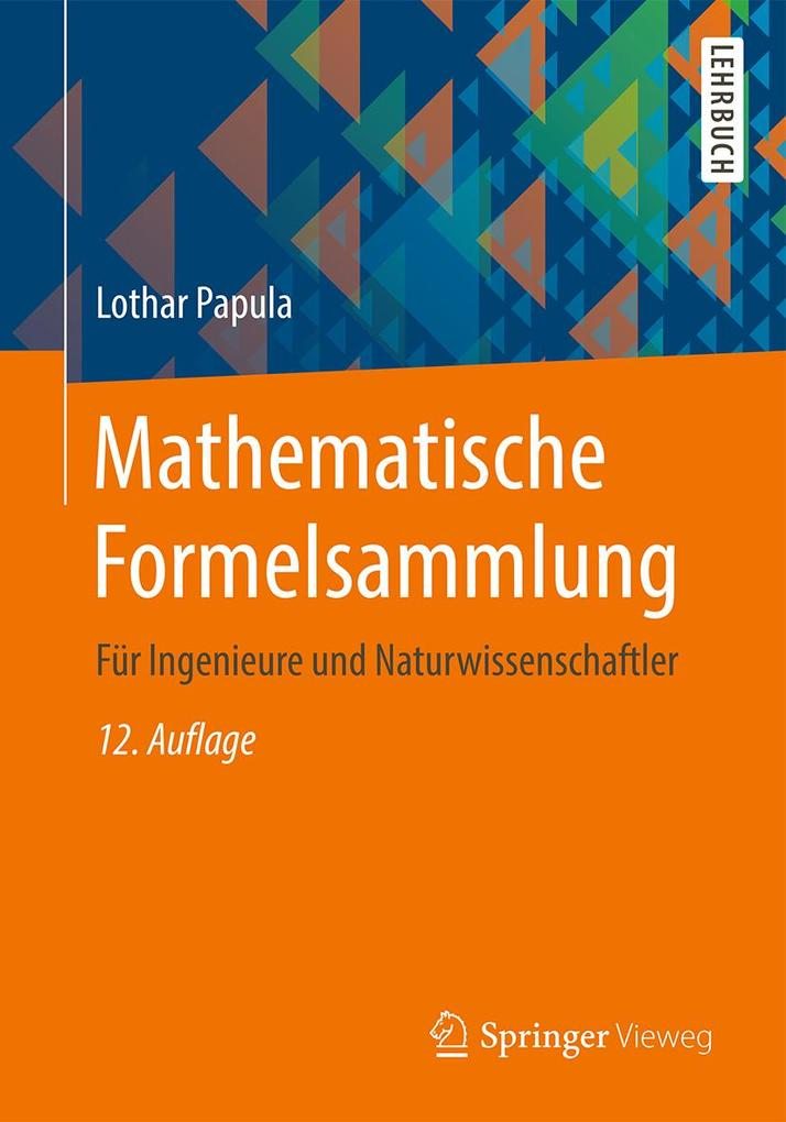 Mathematische Formelsammlung als eBook pdf