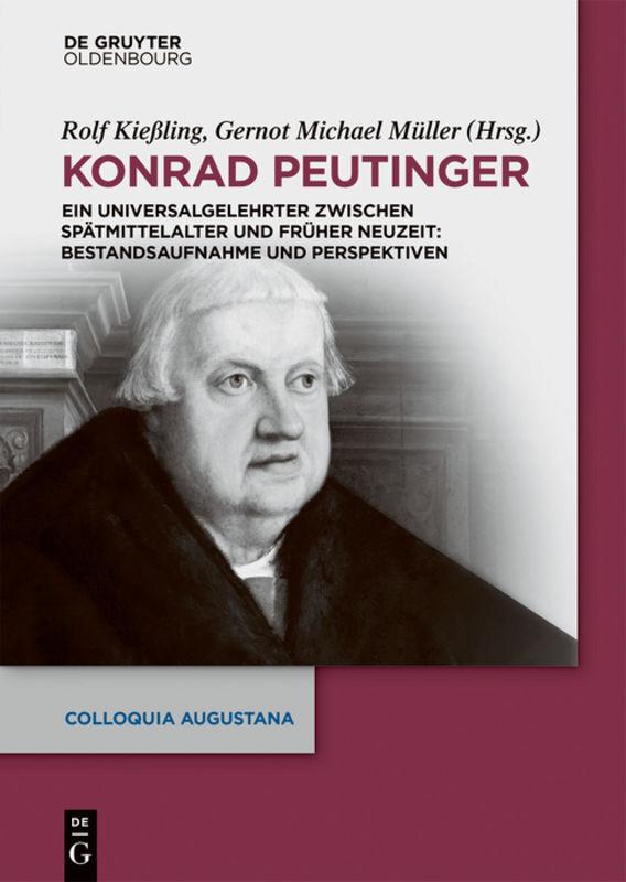Konrad Peutinger als Buch (gebunden)
