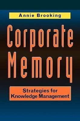 Corporate Memory: Strategies als Buch (kartoniert)