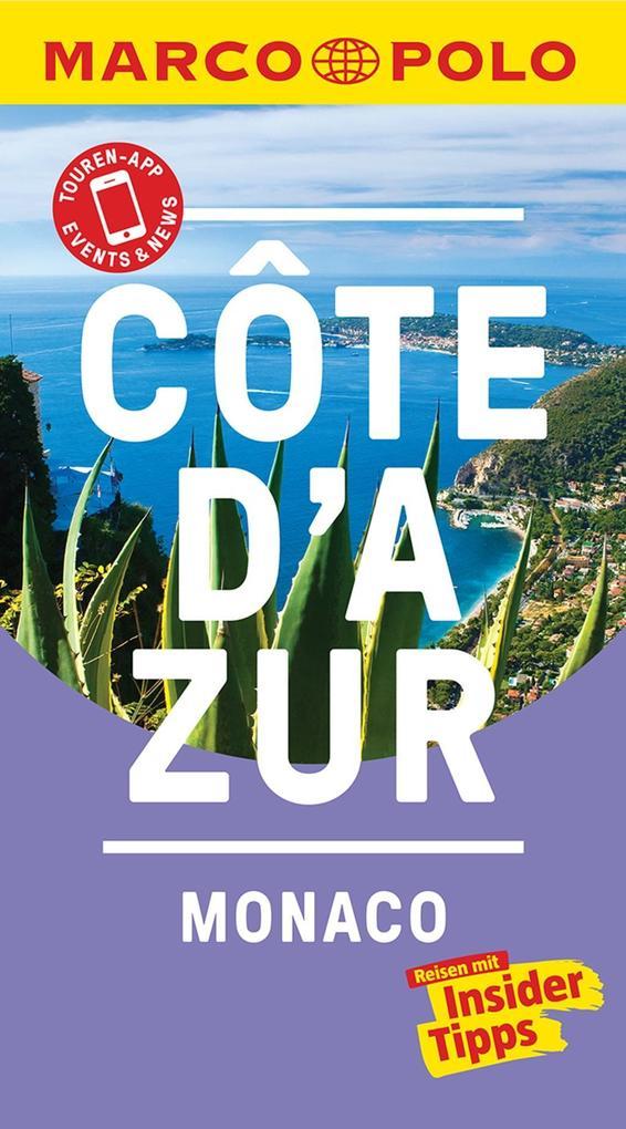 MARCO POLO Reiseführer Cote d'Azur, Monaco als eBook