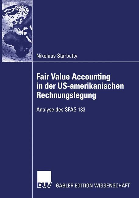 Fair Value Accounting in der US-amerikanischen Rechnungslegung als Buch (kartoniert)