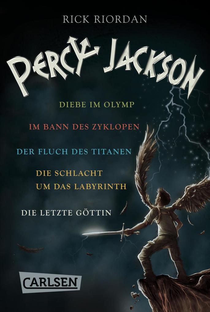 Percy Jackson: Alle fünf Bände der Bestseller-Serie in einer E-Box! (Percy Jackson) als eBook epub