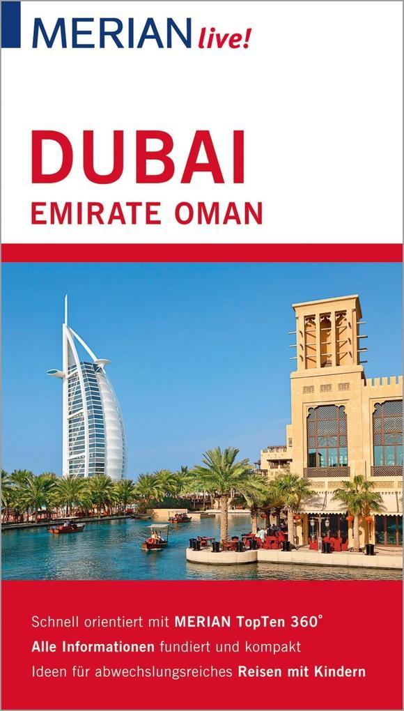 MERIAN live! Reiseführer Dubai Emirate Oman als eBook