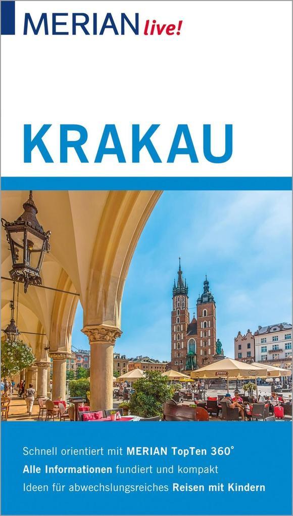 MERIAN live! Reiseführer Krakau als eBook epub