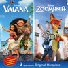 Disney / Doppel-Box - Vaiana / Zoomania
