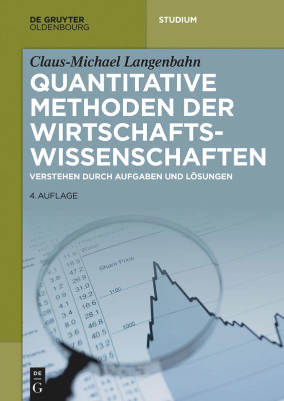 Quantitative Methoden der Wirtschaftswissenschaften als Buch (kartoniert)