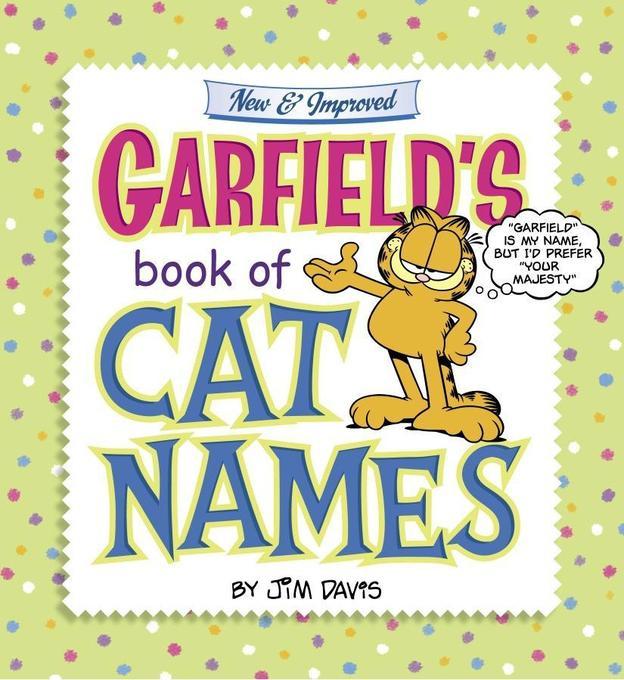 Garfield's Book of Cat Names als Buch (kartoniert)