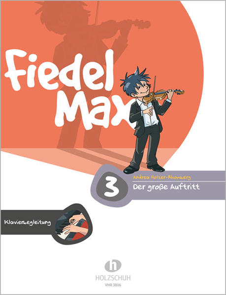 Fiedel-Max - Der große Auftritt 3 als Buch (geheftet)