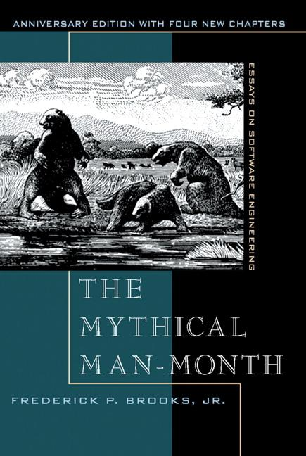 The Mythical Man Month als Buch (kartoniert)
