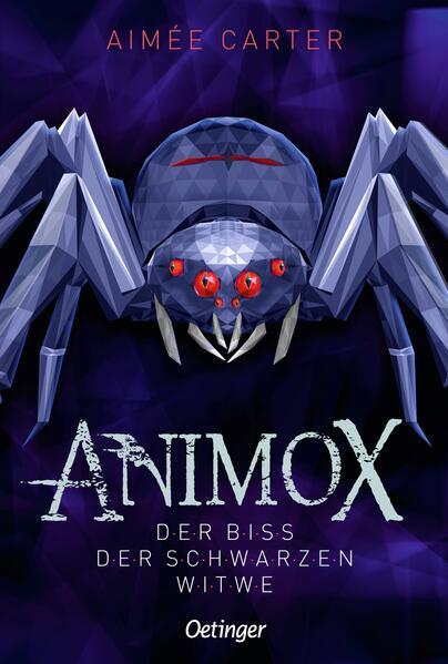 Animox 04. Der Biss der Schwarzen Witwe als Buch (gebunden)