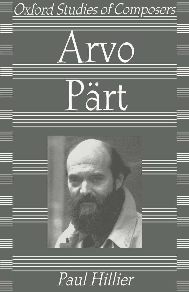 Arvo Part als Buch (kartoniert)