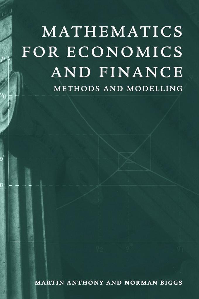 Mathematics for Economics and Finance: Methods and Modelling als Buch (kartoniert)