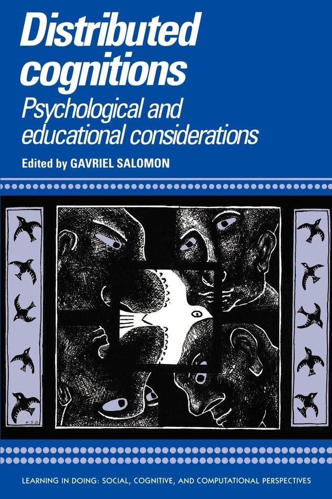 Distributed Cognitions als Buch (kartoniert)