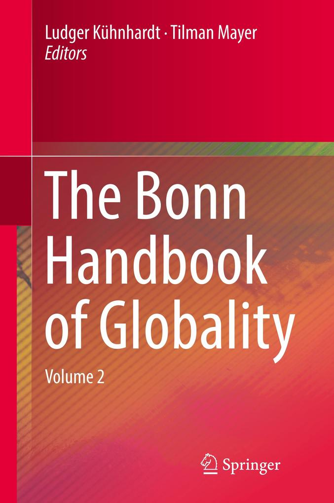 The Bonn Handbook of Globality als Buch (gebunden)