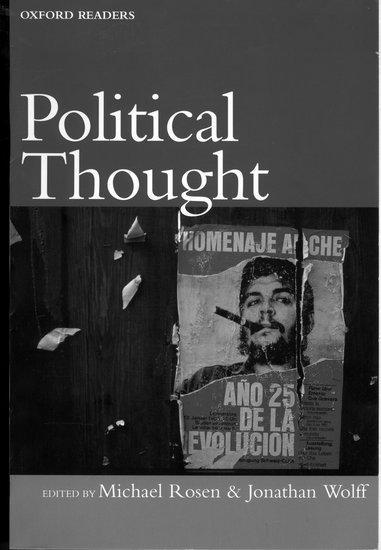 Political Thought als Buch (kartoniert)