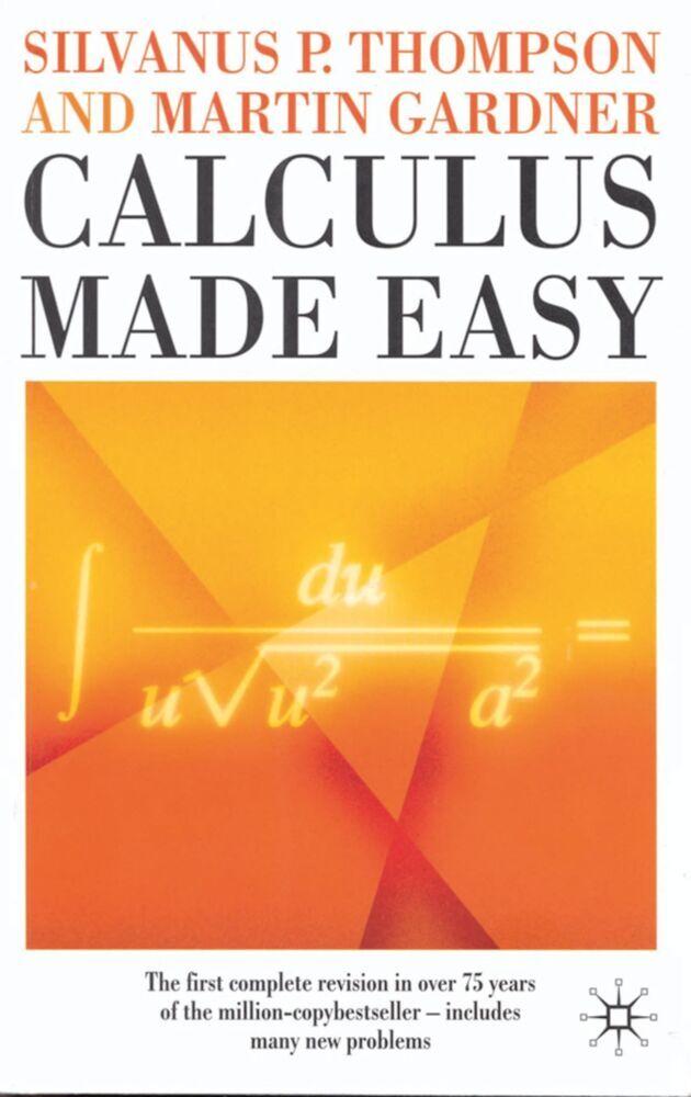 Calculus Made Easy als Buch (kartoniert)