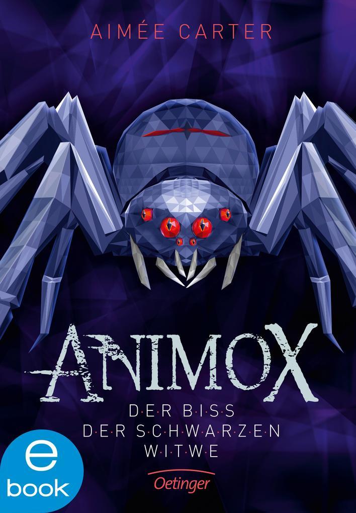 Animox. Der Biss der Schwarzen Witwe als eBook epub