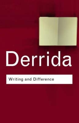 Writing and Difference als Buch (kartoniert)