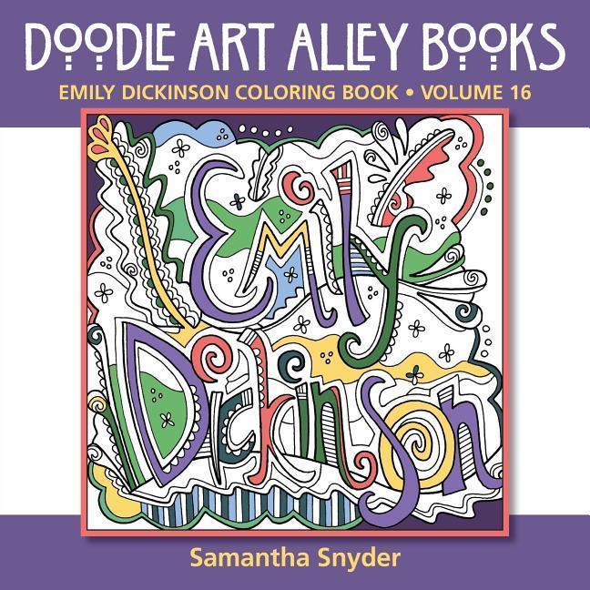 Emily Dickinson Coloring Book als Taschenbuch