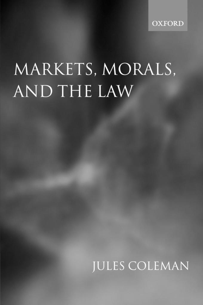 Markets, Morals, and the Law als Buch (kartoniert)