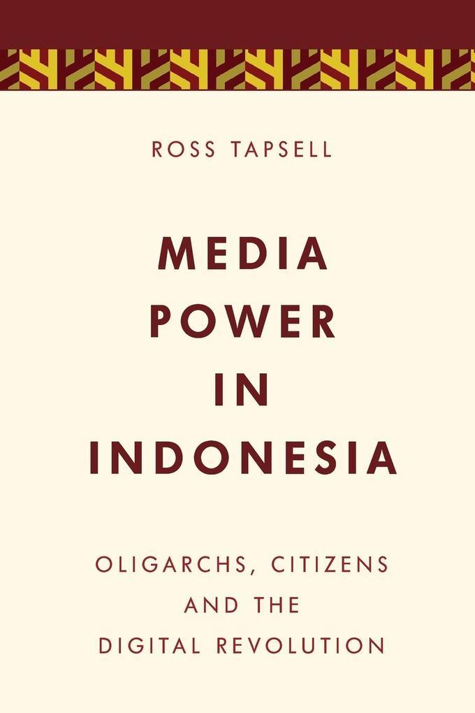 Media Power in Indonesia als Taschenbuch