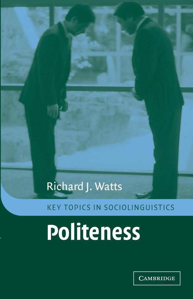 Politeness als Buch (kartoniert)