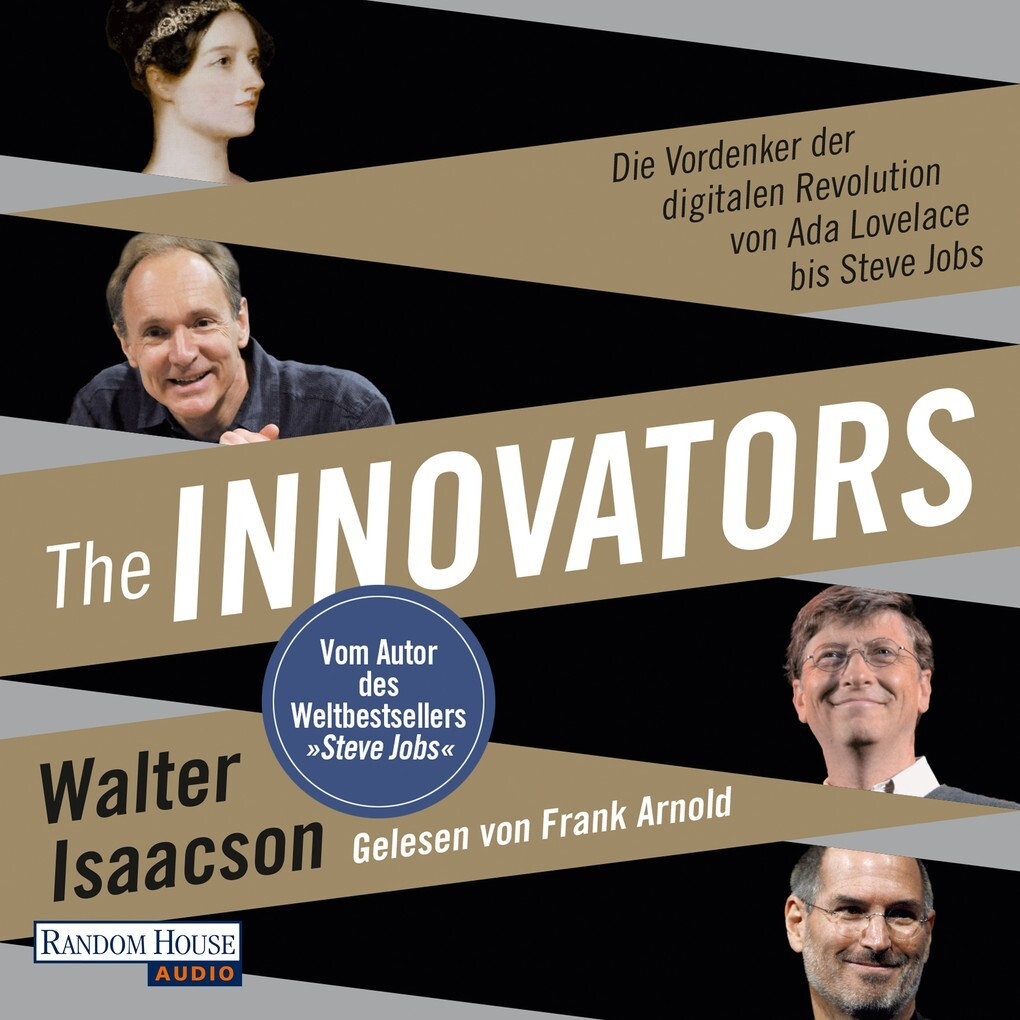 The Innovators als Hörbuch Download