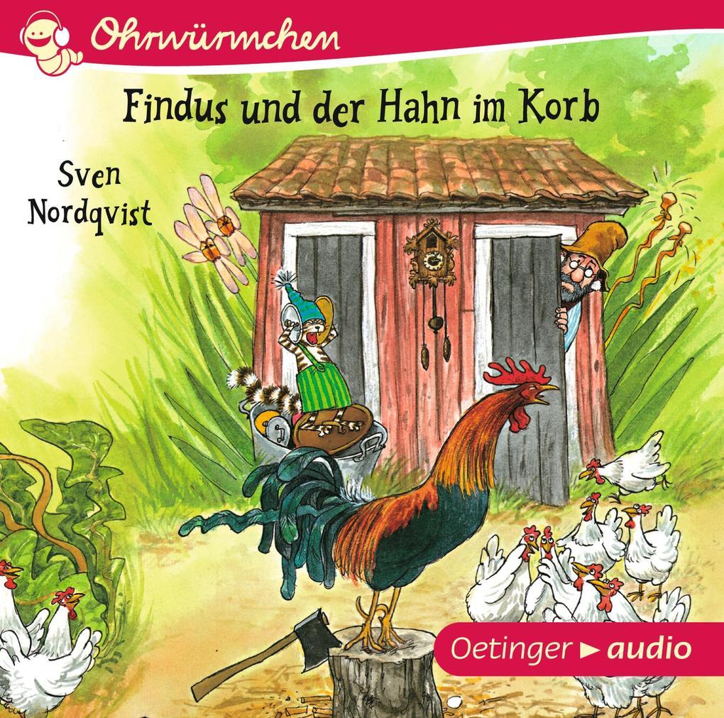 Findus und der Hahn im Korb als Hörbuch CD