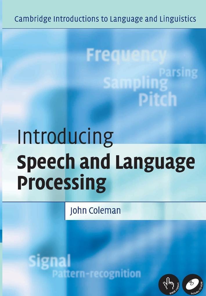 Intro Speech Language Processing als Buch (kartoniert)
