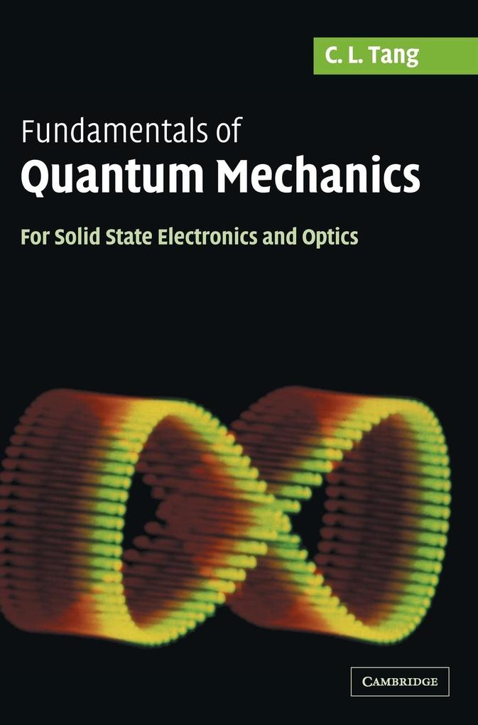Fundamentals of Quantum Mechanics als Buch (gebunden)
