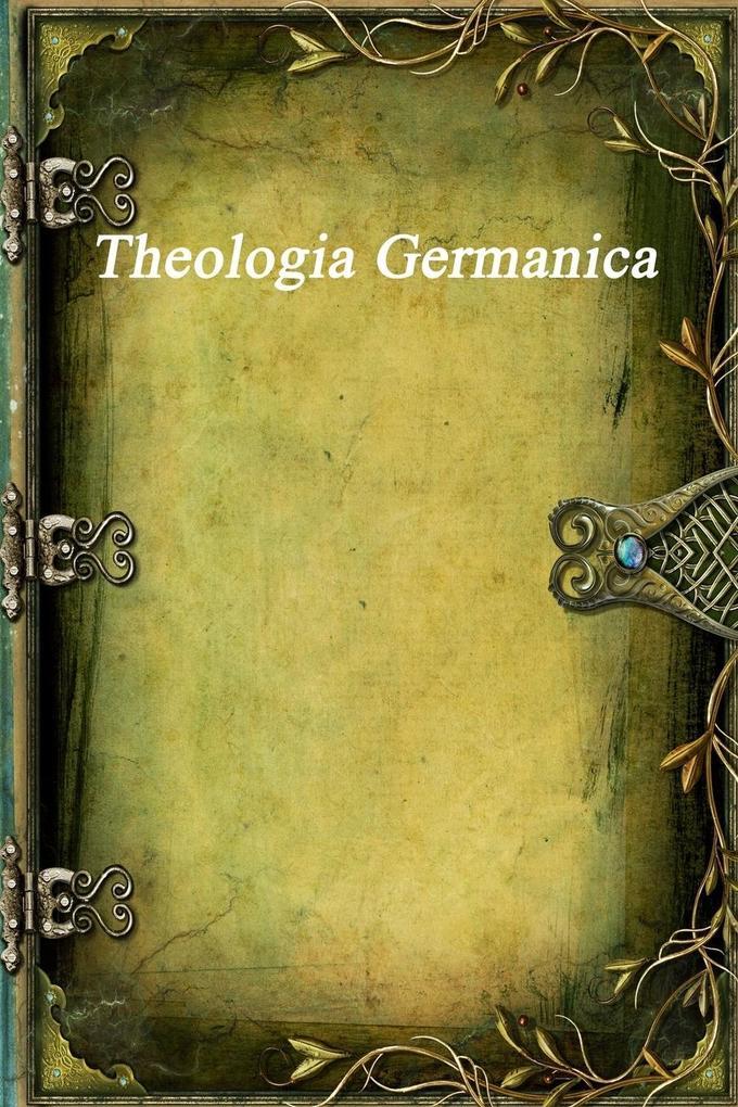 Theologia Germanica als Taschenbuch