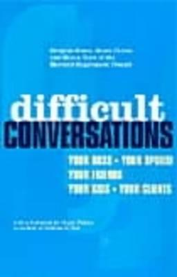 Difficult Conversations als Taschenbuch
