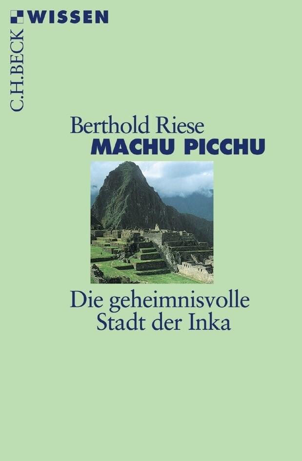 Machu Picchu als Taschenbuch