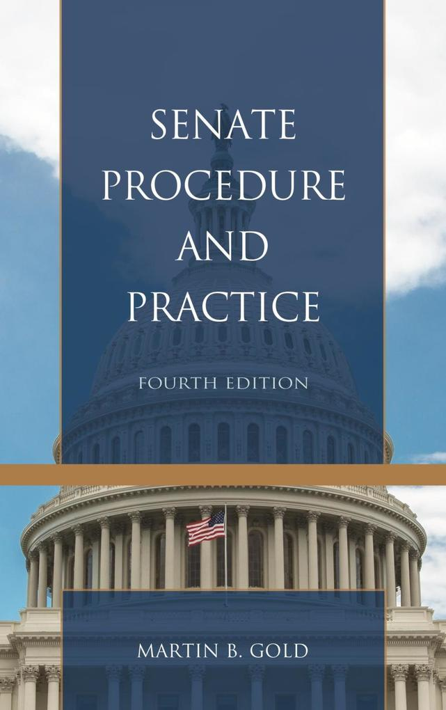 Senate Procedure and Practice als eBook epub